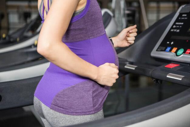 بارداری و تردمیل
