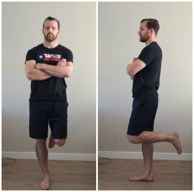 تمرینات تعادلی