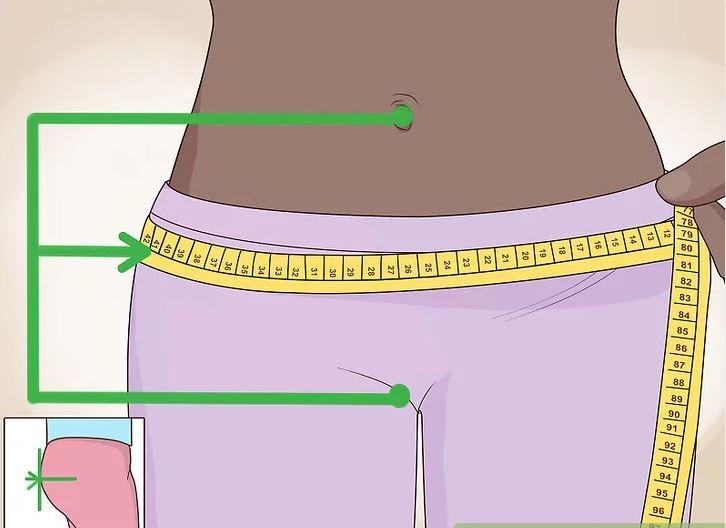 اندازهگیری دور باسن