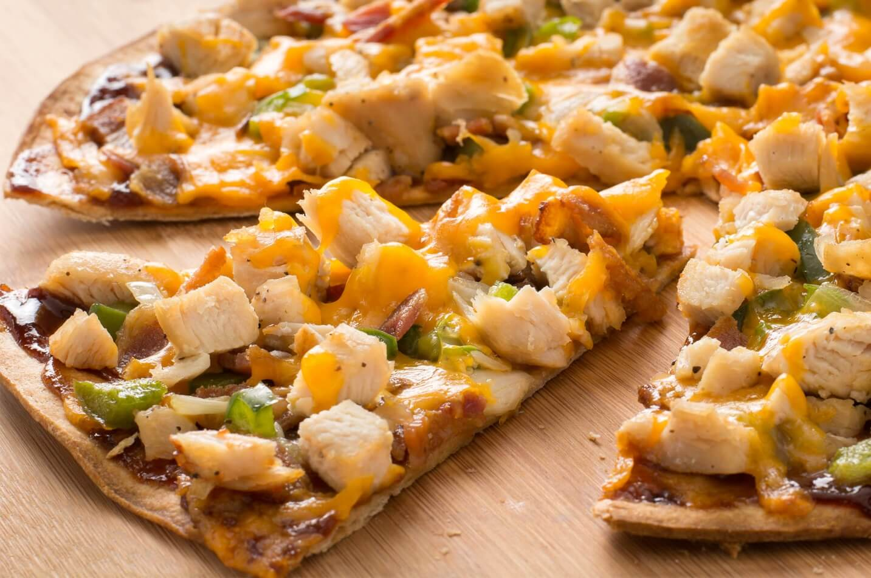 پیتزا رژيمی مرغ