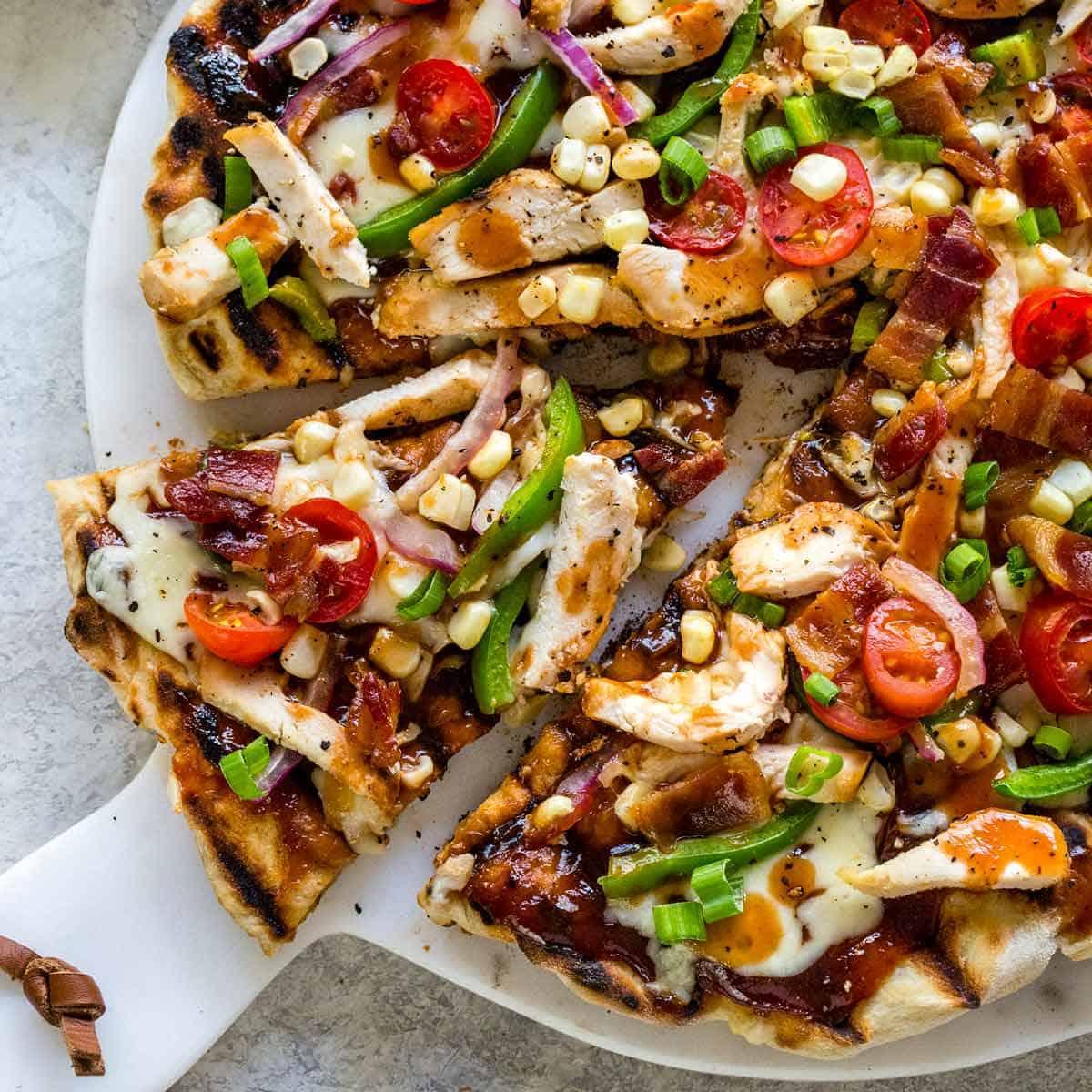 پیتزا قارچ و ذرت