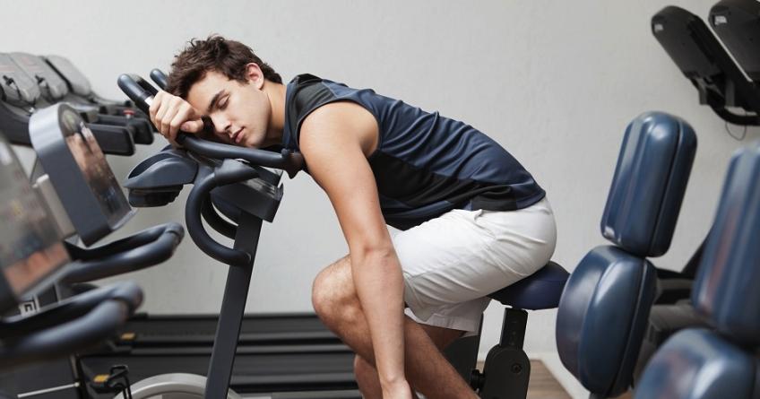 ضعف حین ورزش