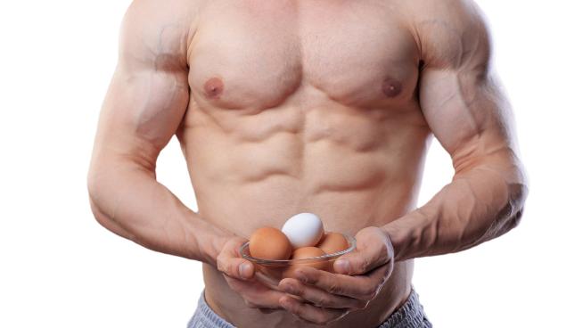 تاثییر تخم مرغ برای بدنسازان