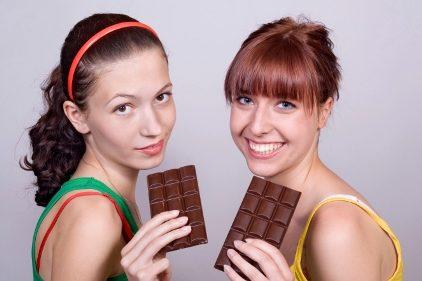 لاغری با شکلات تلخ