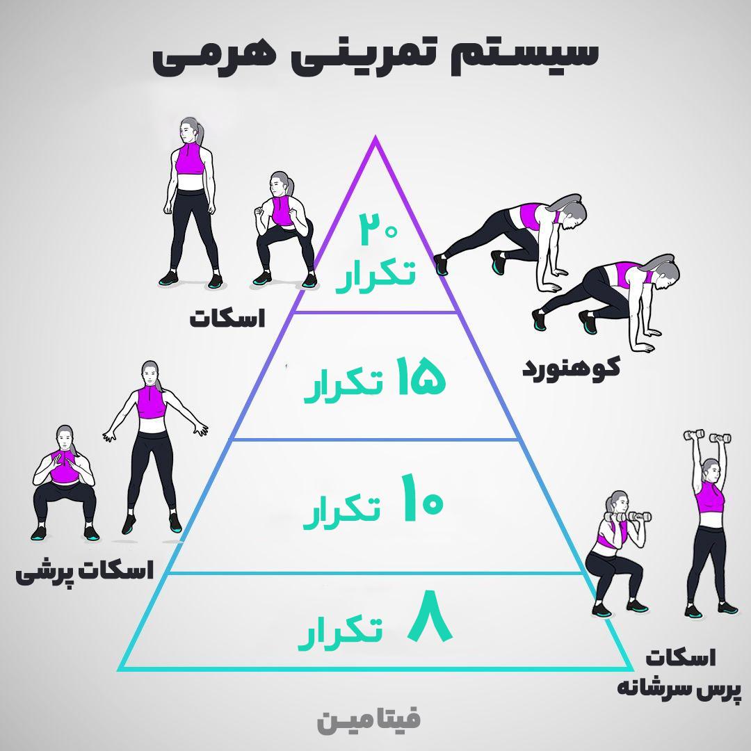 سیستم تمرینی هرمی
