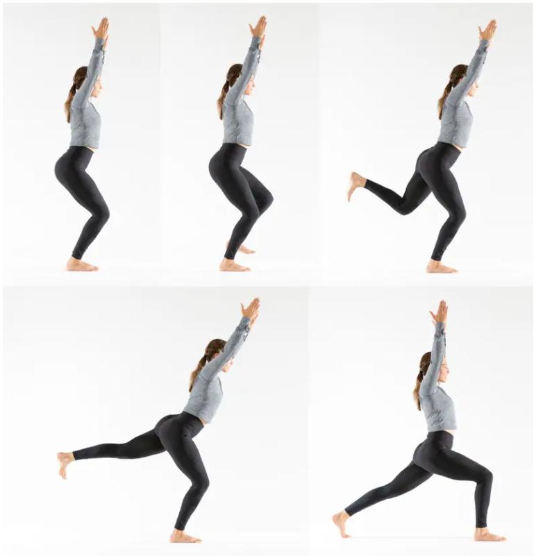 حرکات تعادلی یوگا