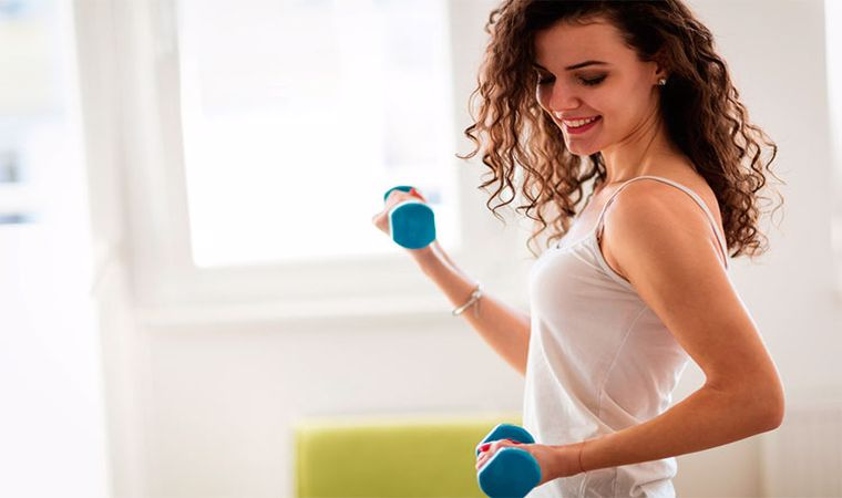 ورزش کوچک کردن سینه
