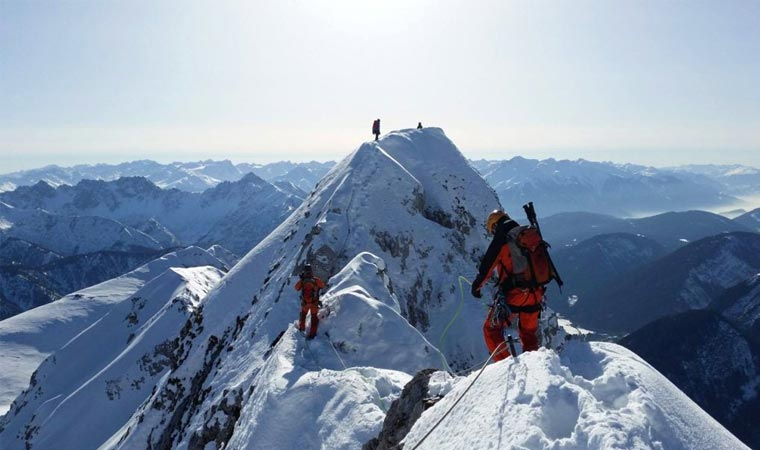اشکال مختلف کوهنوردی