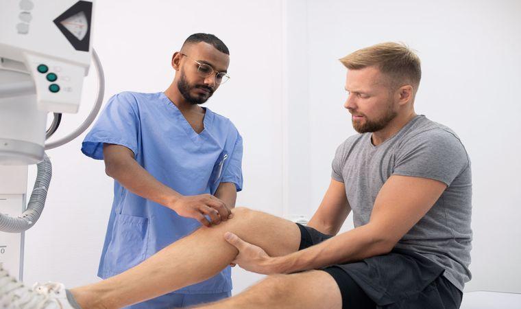 درمان ورم زانو